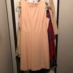 Jcrew pink peach blush 10 dress